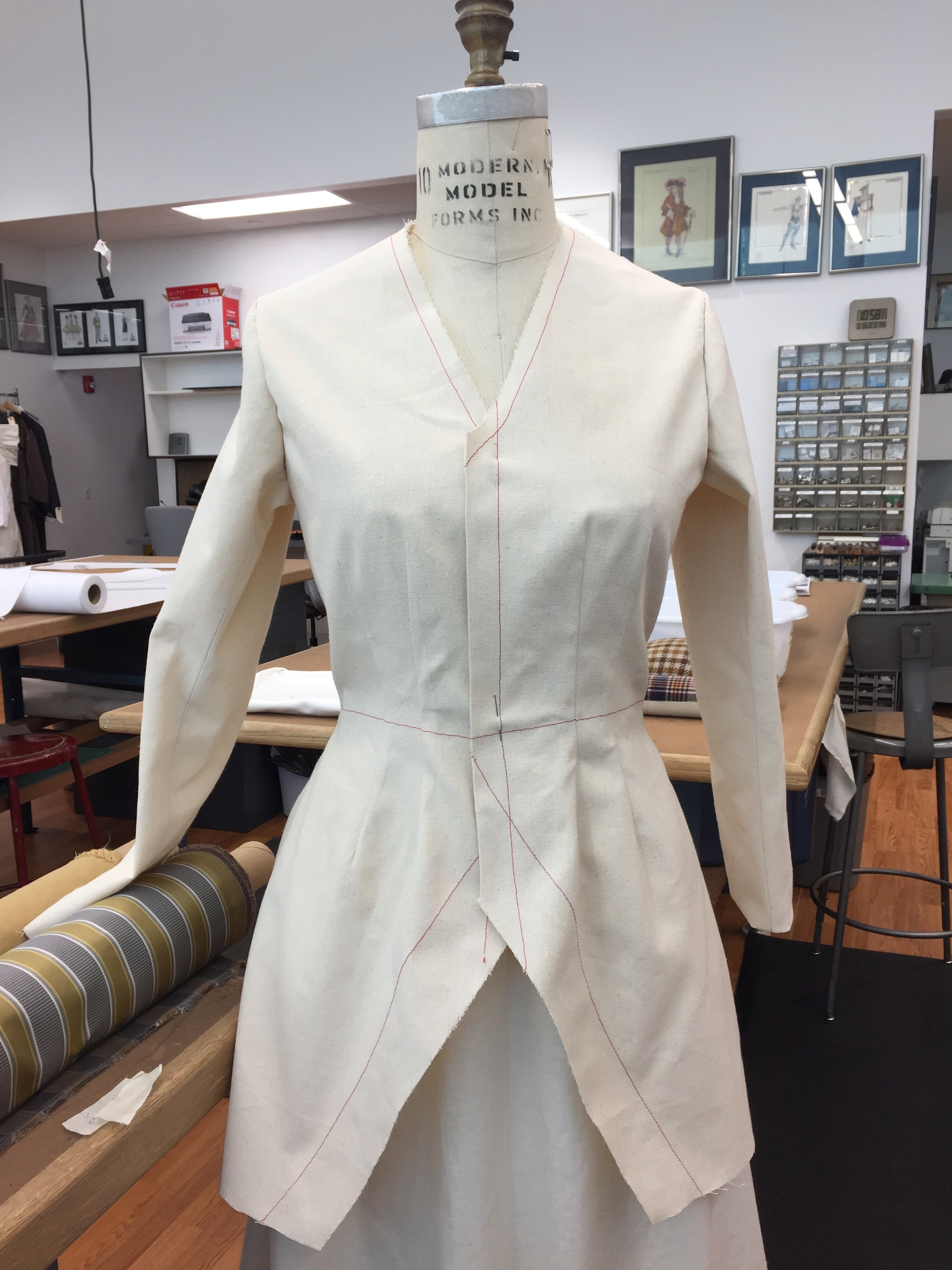 Rosalind - Coat Mock-Up