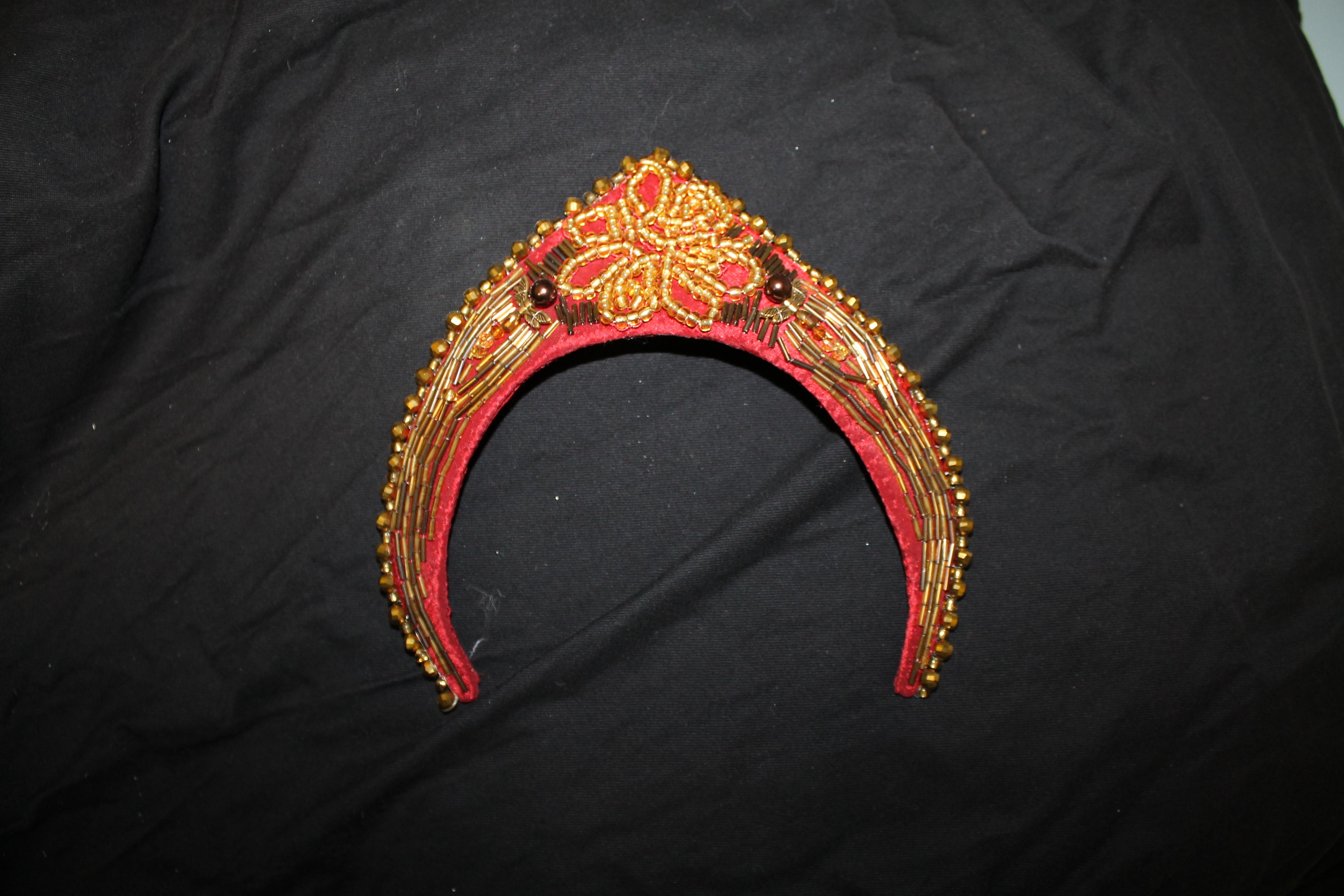Beaded Headpiece - Front