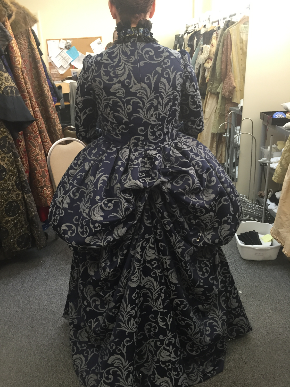Costume Final Fitting Back