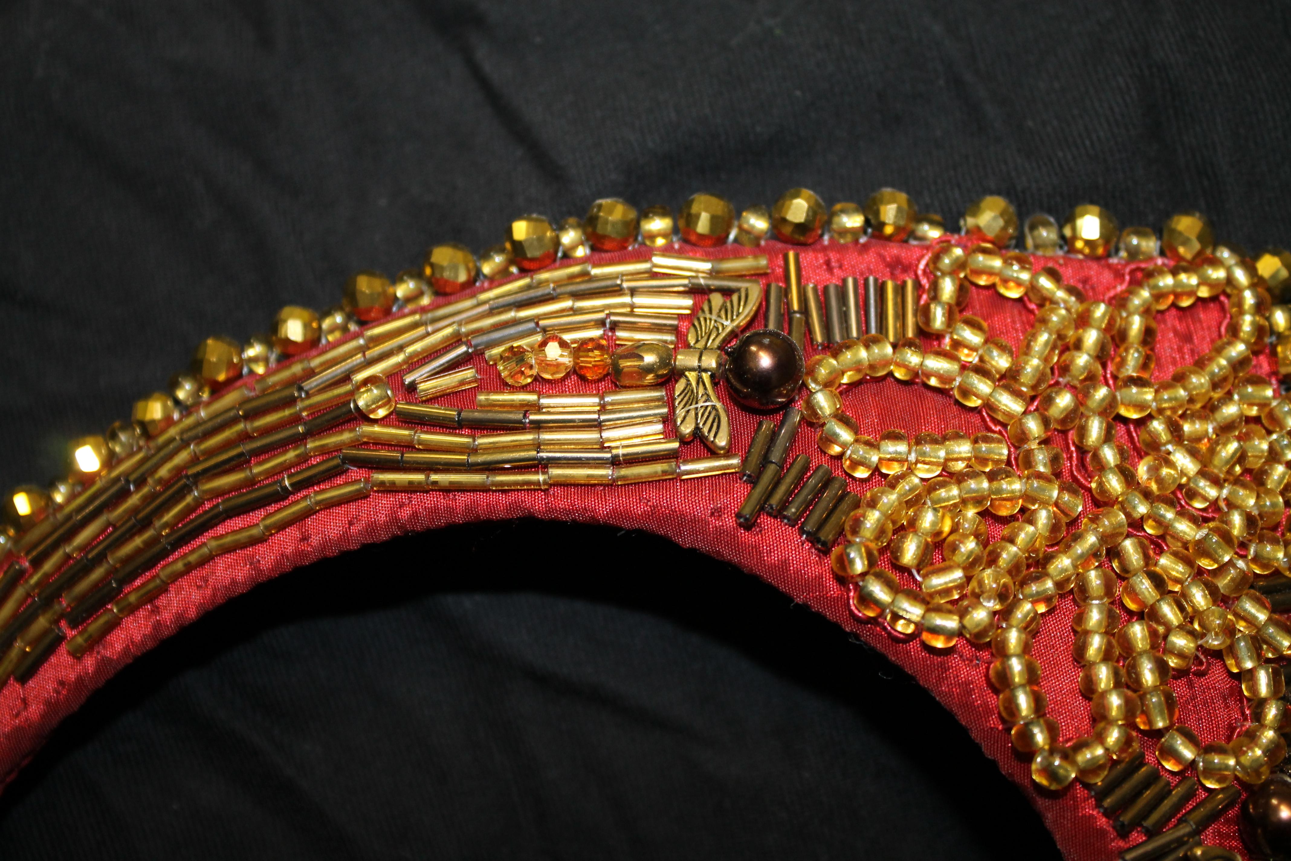 Hand Beading Detail
