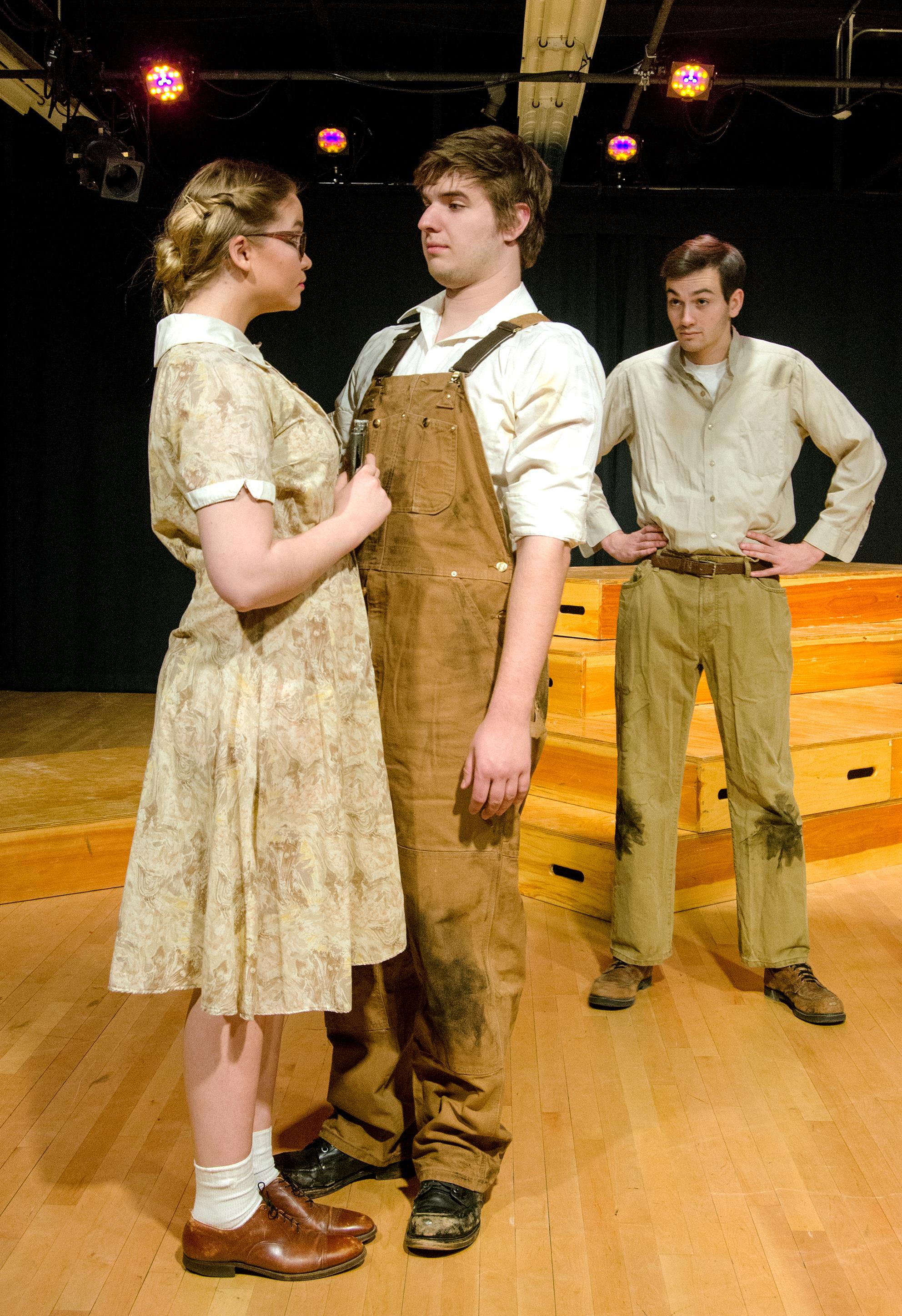 Darlene Henshaw, Dewey, and Melvin