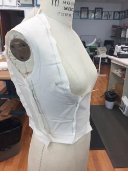 Drape for Jacket Side Front