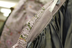 Cartridge Pleating and Waistband