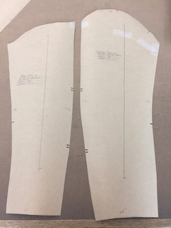 Pattern for Coat Sleeves