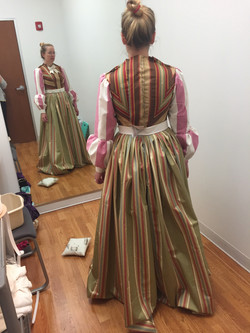Miss Watson - First Fitting