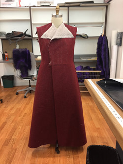 Overcoat with Skirt