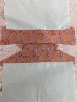 Inserting Welt Pockets on Vest Front
