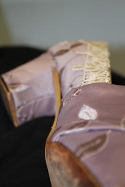 Finished Shoe - Side Detail