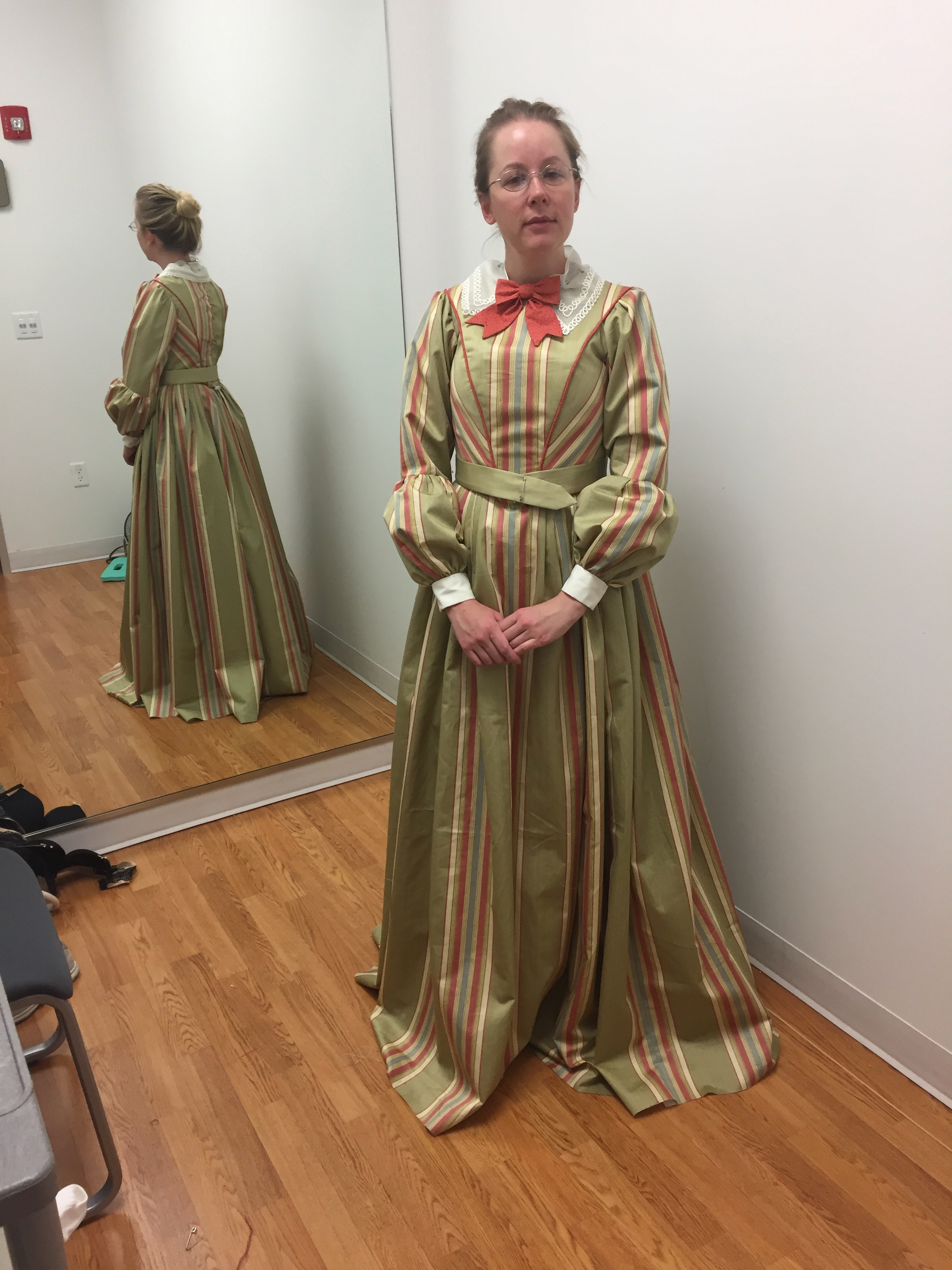 Miss Watson - Final Fitting