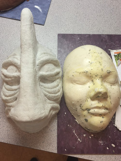 Mask and Face Cast