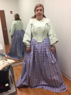 Widow Douglas - First Fitting