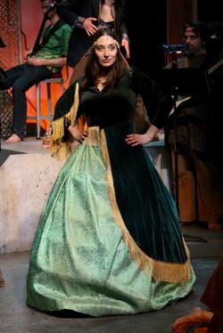 Leatta Playing Scarlett O'Hara