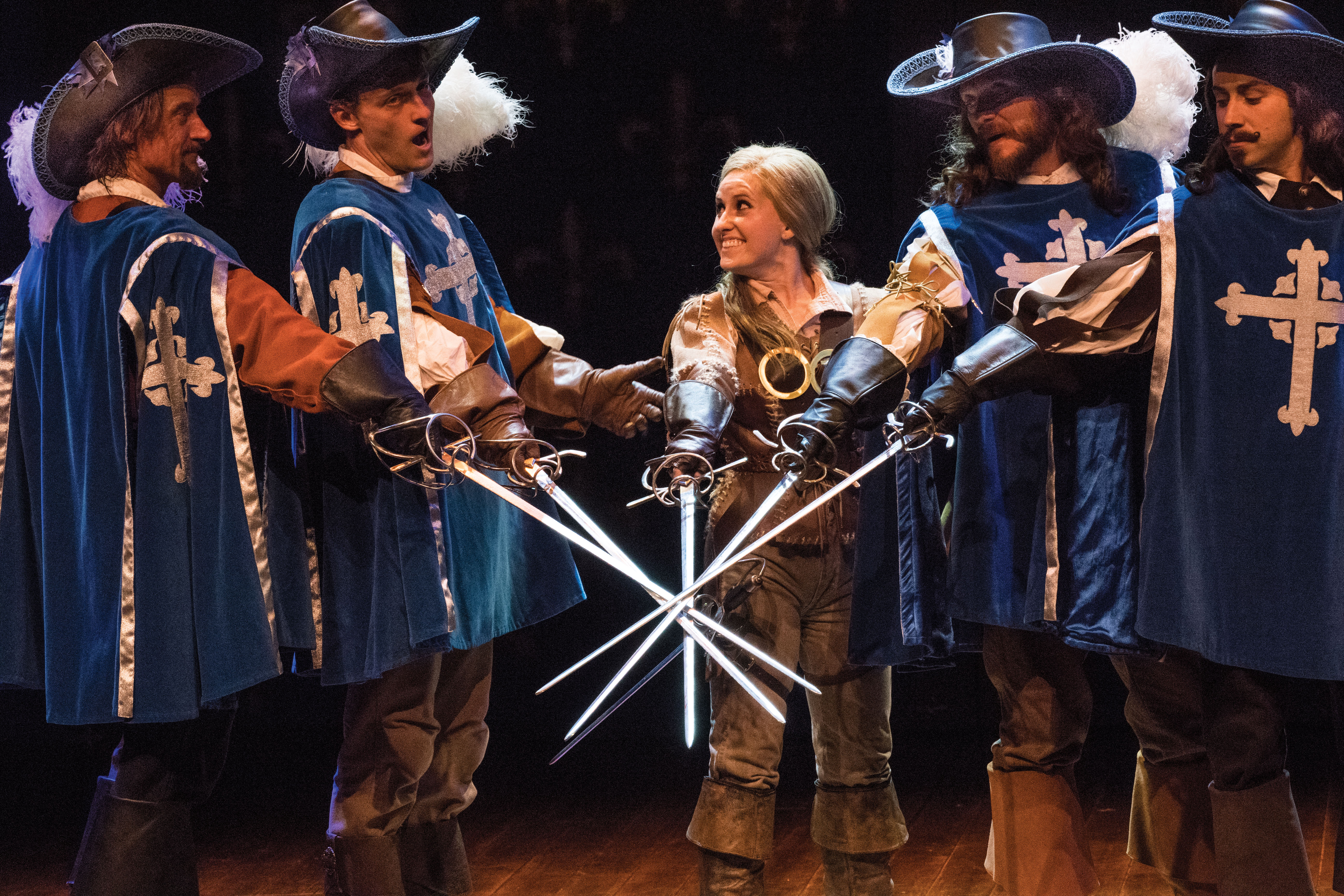 The Musketeers and Sabine
