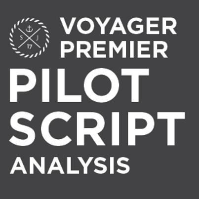 Voyager Premier Pilot Script Analysis