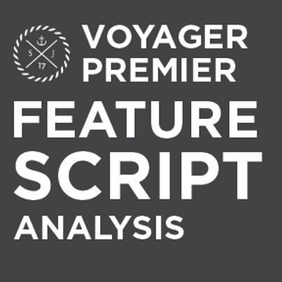 Voyager Premier Feature Script Analysis