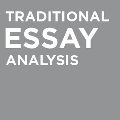 Script Journey's Traditional Essay Analysis