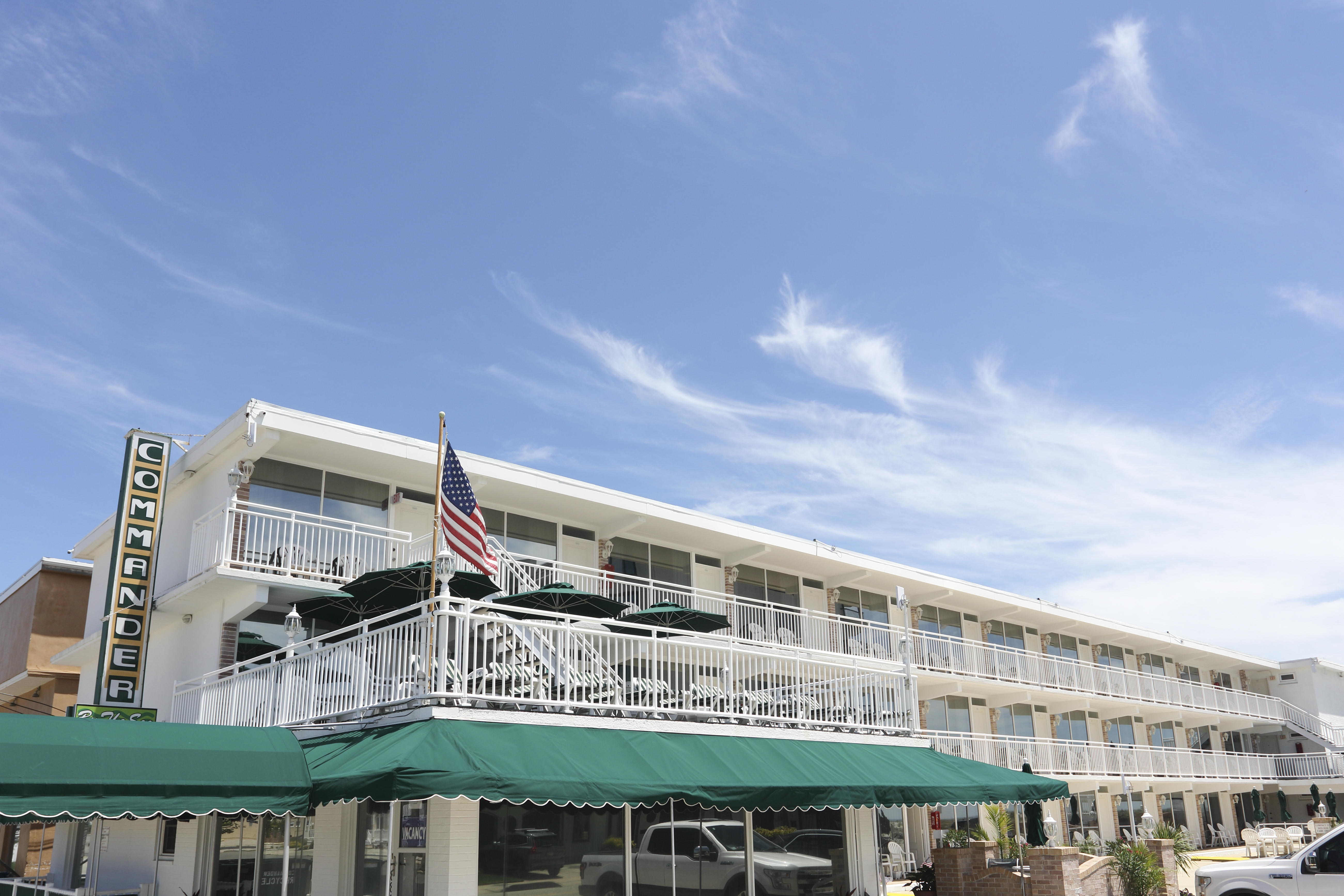 Commander Motel in Wildwood Crest