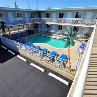 Stardust Motel in Wildwood Pool