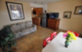 Nantucket Type D Room Living Room at Nantucket Inn & Suites in Wildwood hotel