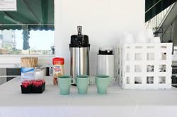 Coffee @ Commander Motel in Wildwood