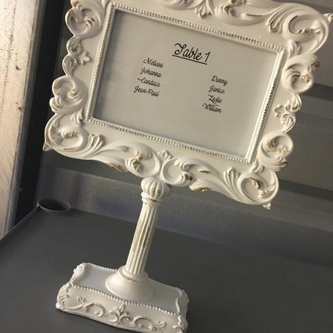 Vintage table frame