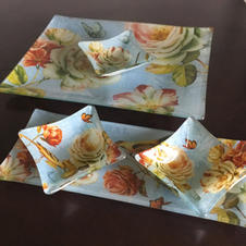 Floral Platters