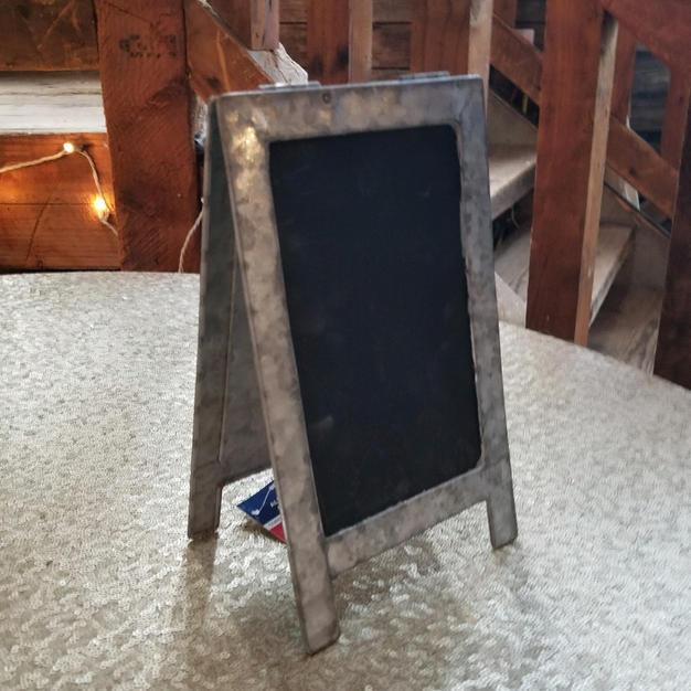 Galvanized Chalkboard