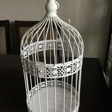 White Bird Cage