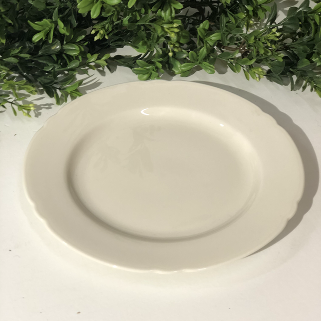 Ivory Cake Plate