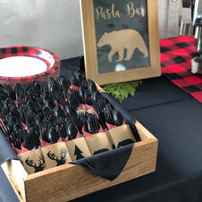 Bear Pasta Bar Sign