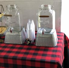 Mason Jar Drink Dispensers