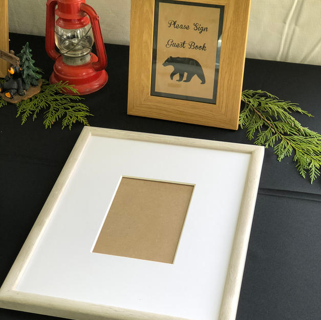 Bear Guest Book Sign