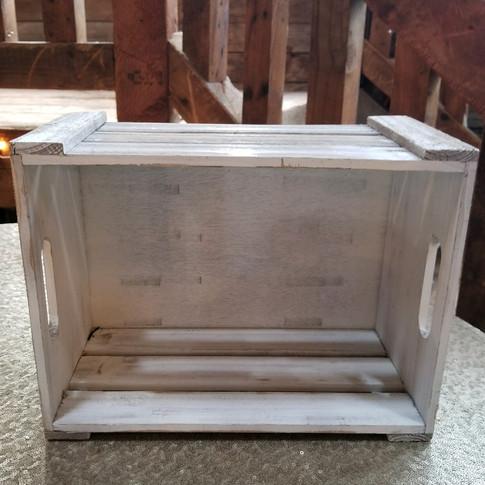 White crates (various sizes