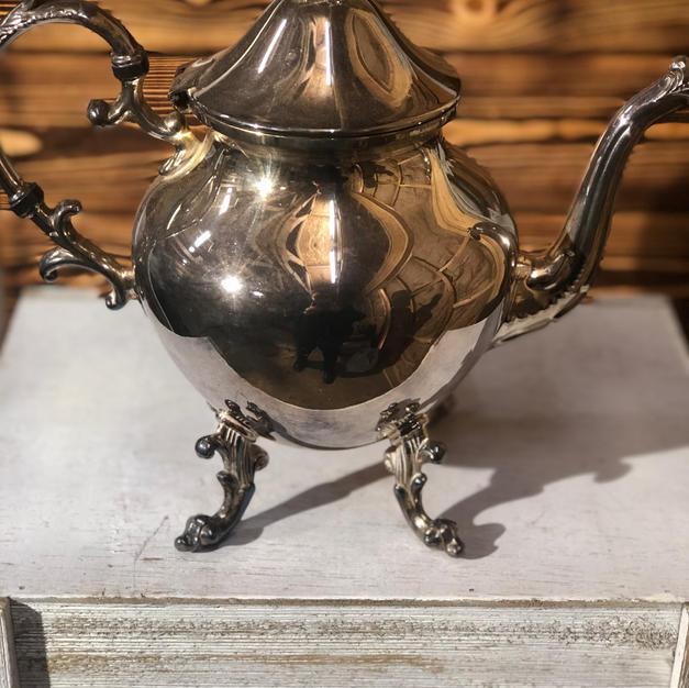 Assorted Silver Tea Pots
