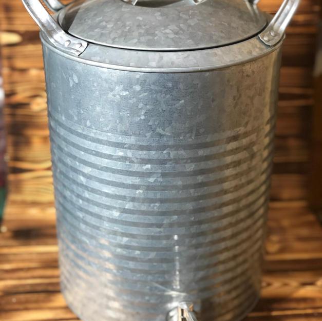Galvanized Drink Dispenser