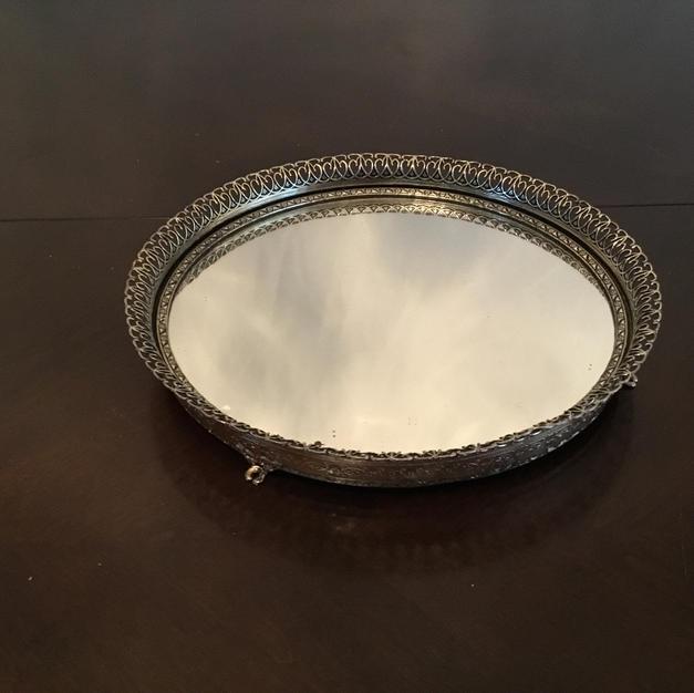 Mirrored Tray #5