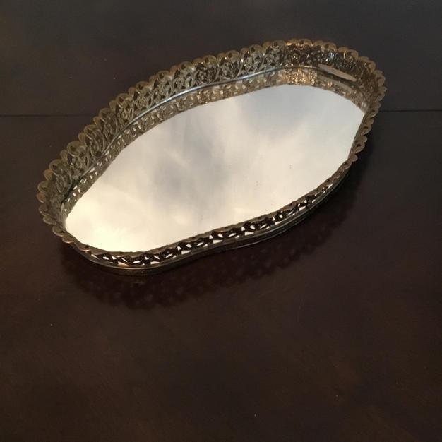 Mirrored Tray #7