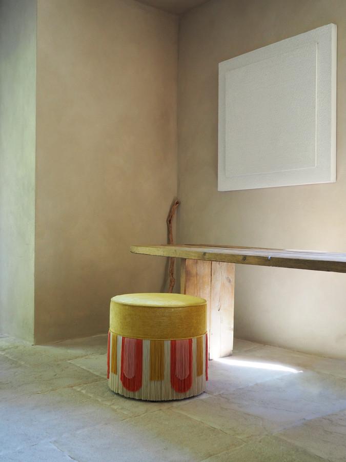 Yellow Deco' collection diameter: 50 cm