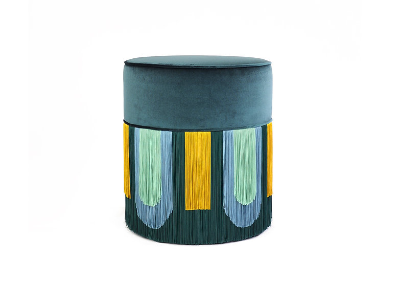 DECO' GREEN POUF diameter: 40 cm