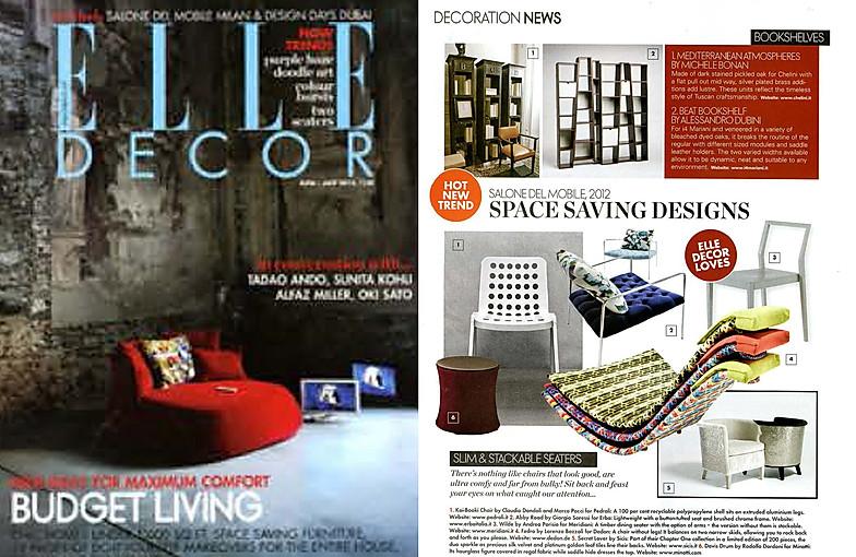Press 2012 Lorenza Bozzoli Design Milan Home Page