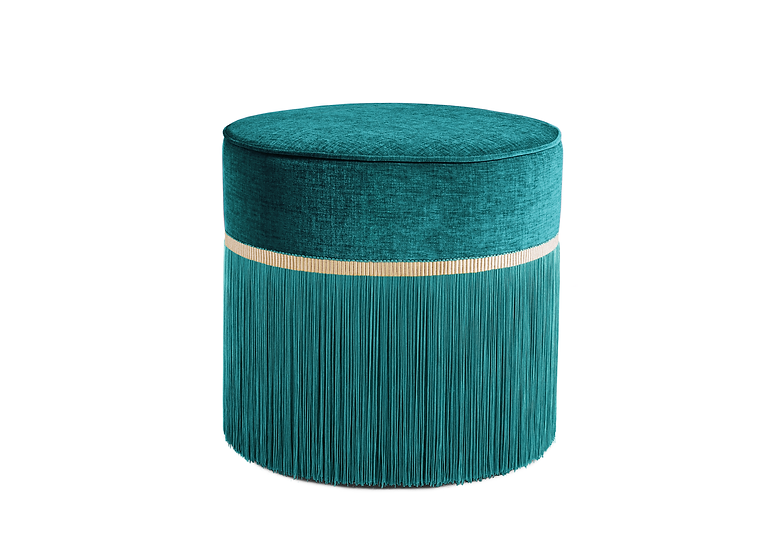 PLAIN GREEN POUF diameter: 50cm