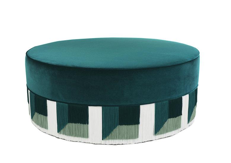 FLO GREEN LARGE  POUF diameter: 95 cm