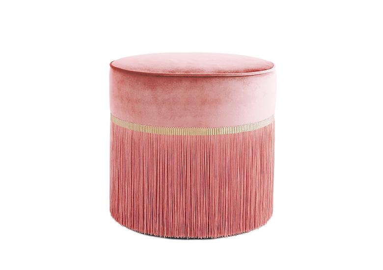 PLAIN PINK POUF diameter: 50cm