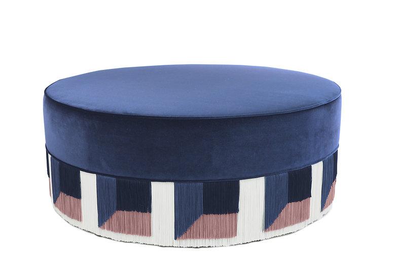 FLO BLUE LARGE  POUF diameter: 95 cm