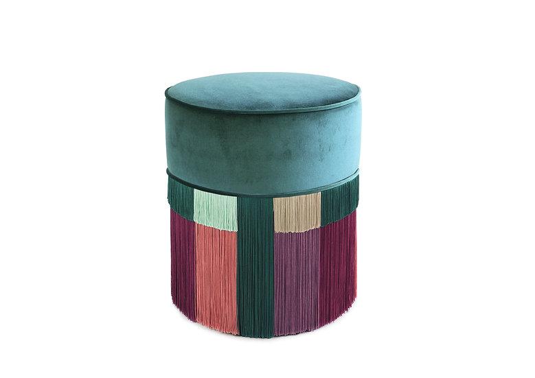 WIEN GREEN POUF / OTTOMAN diameter: 40 cm