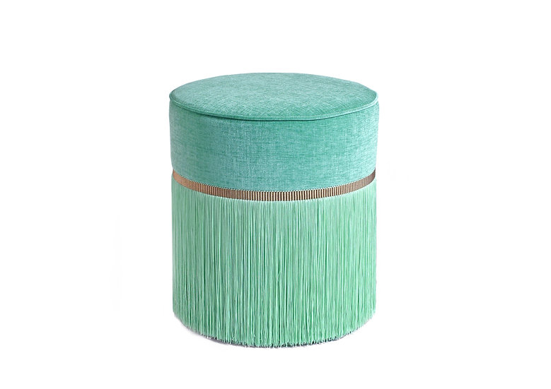 PLAIN MINT POUF diameter: 40 cm