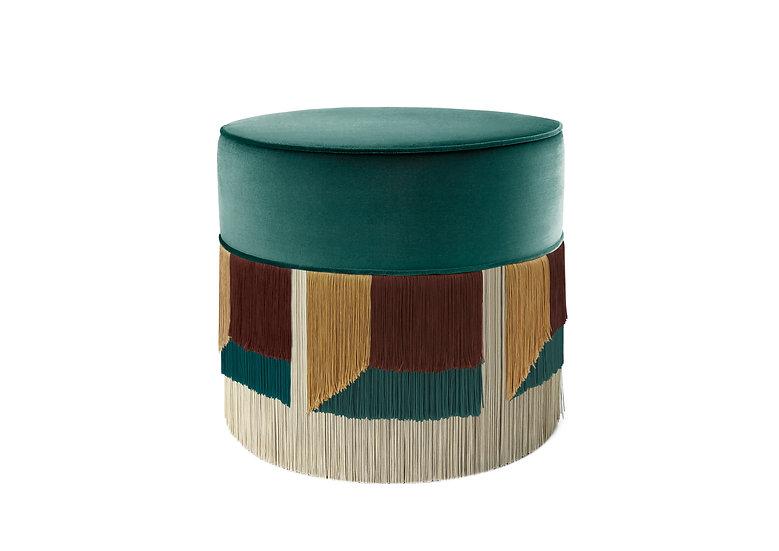 FLO' GREEN POUF diameter: 50 cm