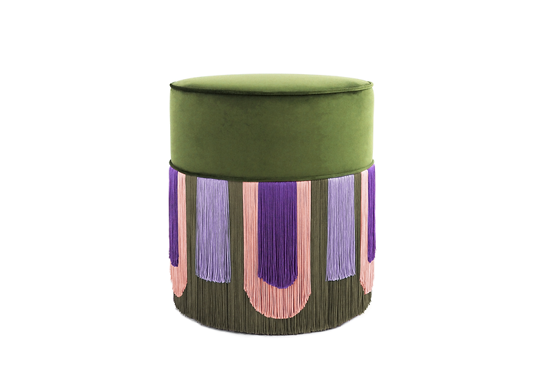 DECO' GREEN POUF diameter: 40 cm