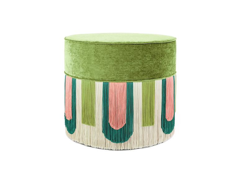 DECO' GREEN POUF diameter: 50cm