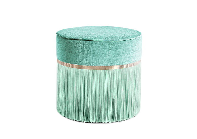 PLAIN MINT POUF diameter: 50cm